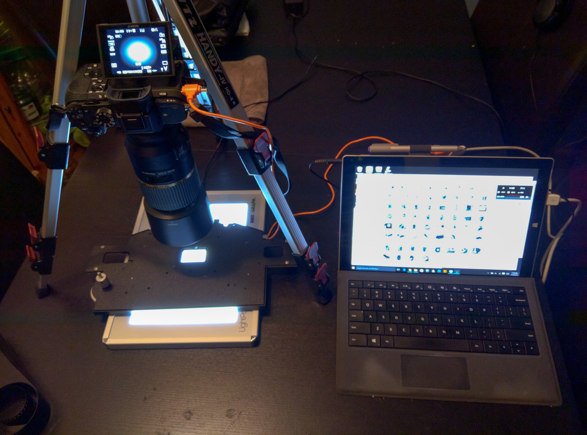 Sony A7RII Digitize Scanning Rig for Film